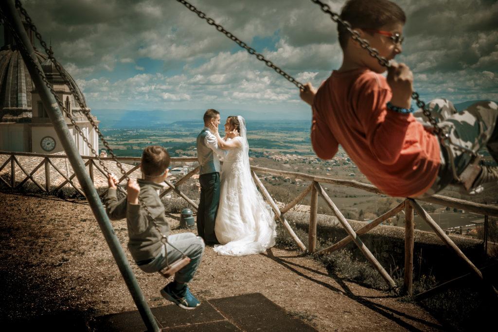 fotografo matrimonio torre alfina acquapendente