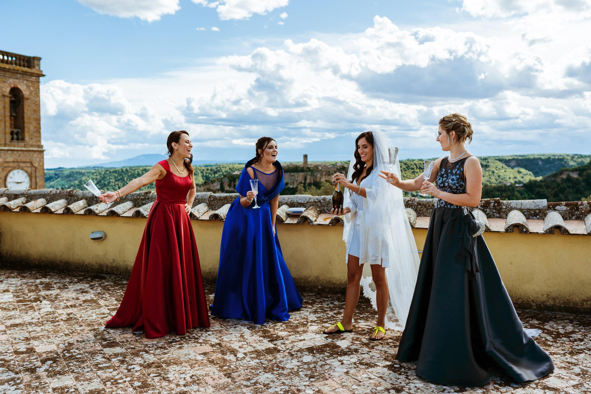 Destination Wedding in Civita di Bagnoregio Lazio