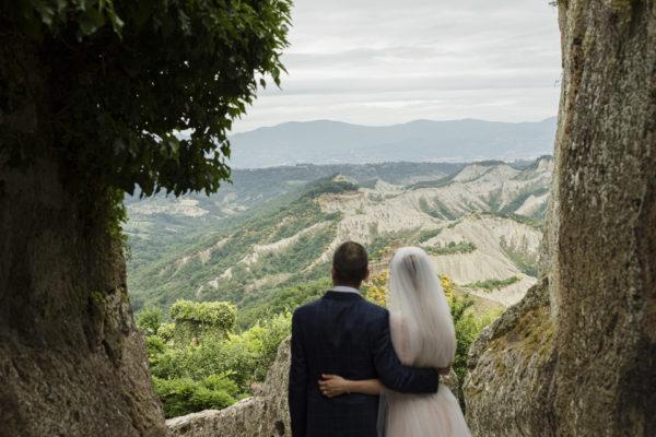 Getting Married in the Dying City Civita di Bagnoregio, Viterbo